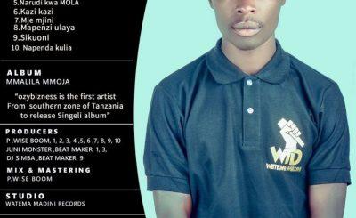 Download Full Album | Ozy Bizness – Mmalila Mmoja (Singeli)