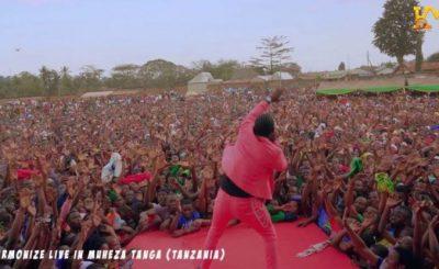 Watch Video | Harmonize Live Performance in Muheza Tanga