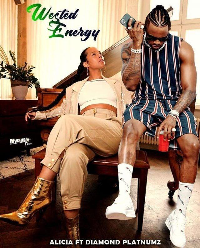Download Audio   Alicia Keys x Diamond Platnumz – Wasted Energy