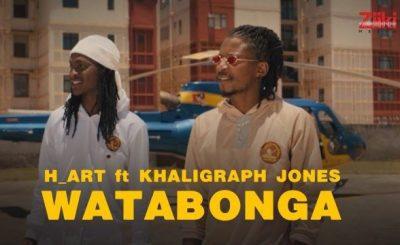 Download Video | H_Art The Band ft Khaligraph Jones – Watabonga