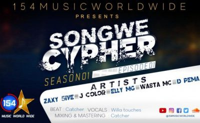 Download Audio   Zaxy 5ive, J Color, Elly Mg, Wasta Mc, & D Pema – Songwe Cypher S01E01