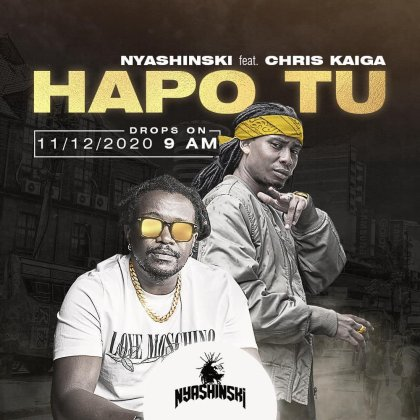 Download Audio by Nyashinski ft Chris Kaiga – Hapo Tu