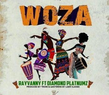 Download Audio by Rayvanny ft Diamond Platnumz – Woza