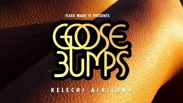 Download Audio by Kelechi Africana – Goose Bumps