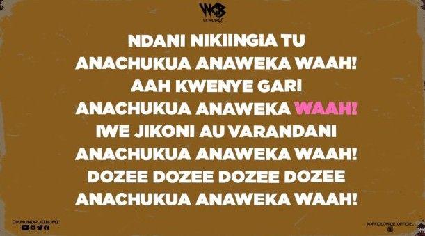 Download Lyrics | Diamond Platnumz ft Koffi Olomide – Waah