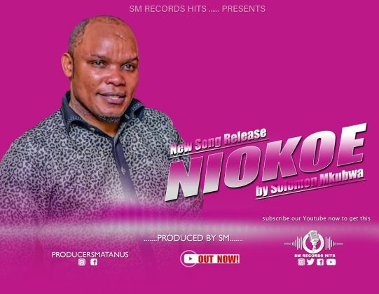 Download Audio by Solomon Mkubwa – Niokoe