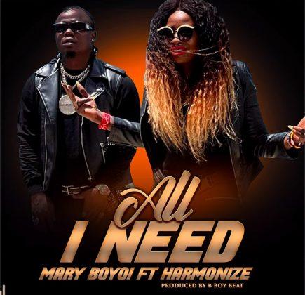 Download Audio by Mary Boyoi ft Harmonize – All I Need