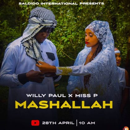 Download Audio by Willy Paul ft Miss P – Mashallah