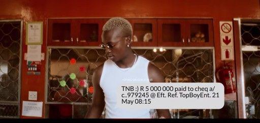 Download Video by Ciza ft Dj Maphorisa ft Madumane – Bank Notifications