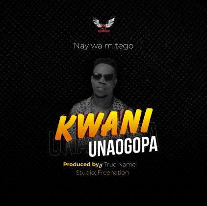 Download Audio by Nay Wamitego – Kwani Unaogopa