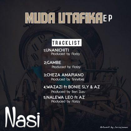 Download Audio by Dj Nasi – Muda Utafika (EP)