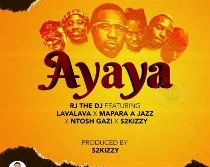 Download Audio by RJ THE DJ Ft. Lava Lava ,Mapara Jazz & Ntoshi – Ayaya