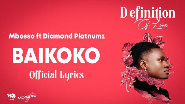 Lyrics | Mbosso ft Diamond Platinumz – Baikoko